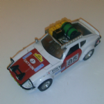 BURAGO 1:24 Datsun 280Z Safari rally car retro die-cast model @SOLD@